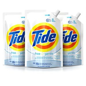 Tide Smart Pouch Free & Gentle HE Liquid Laundry Detergent Sale