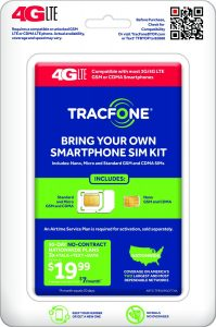TracFone Bring Your Own Phone SIM Activation Kit