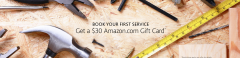 $30 Amazon Card with First Home Service