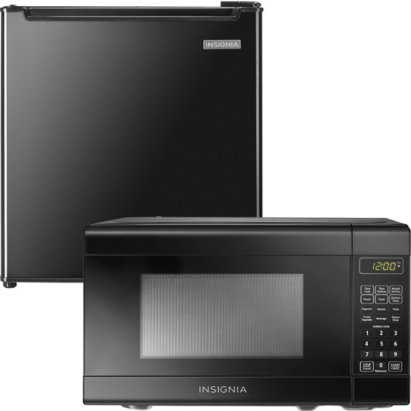 Insignia Compact Microwave and Compact Refrigerator $99.98  Free Shipping from Best Buy