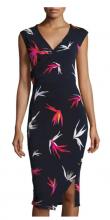 T Tahari Dorina Floral Print Dress