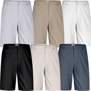 Adidas Golf Flat Front Golf Shorts Mens Sale