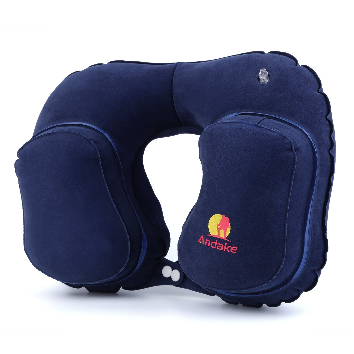 Andake Inflatable Travel Pillow $7.99  Free Shipping from Amazon