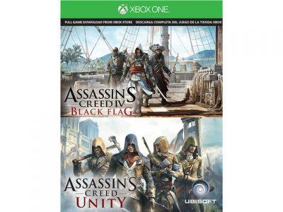 Free Assassin's Creed IV: Black Flag & Unity Xbox One