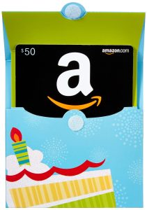 Free $10 Amazon Credit with $50 Gift Card Purchase