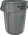 Rubbermaid FG264360 Gray 44 Gallon Brute Utility Container