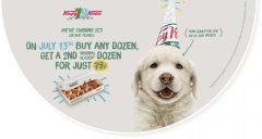 Krispy Kreme buy 1 dozen, get 1 more dozen