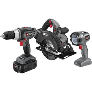 Porter Cable 18 Volt Ni-Cad 3-Piece Tool Combo Kit Sale