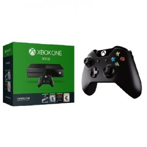 Xbox One 1TB Bundle with $50 Gift Card, Extra Controller, Games