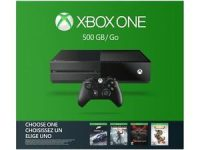 Xbox One 500GB Name your Game Bundle Sale