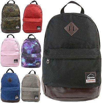 Alpine Swiss Midterm School Backpack Sale $24.99  Free Shipping from eBay