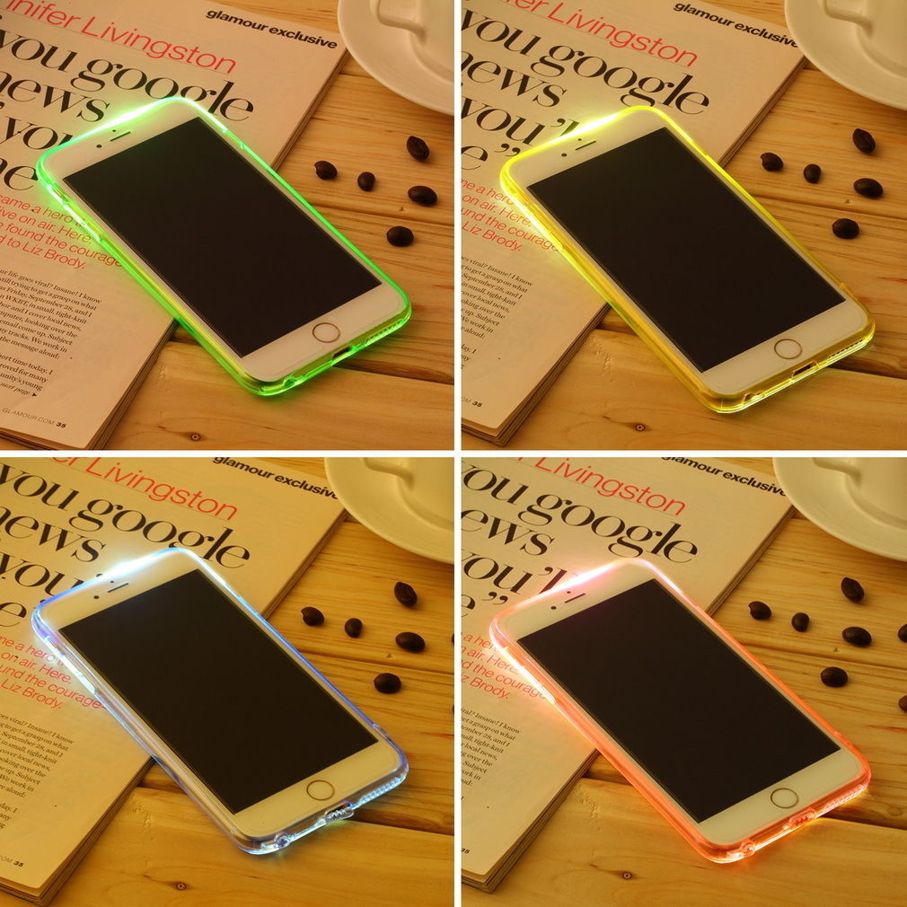 iPhone 6+ Incoming Call Flashing Light Case $1.25  Free Shipping from eBay