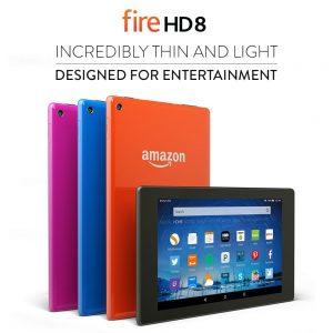"""Kindle Fire HD 8 8GB 8"""" Wi-Fi Tablet Sale"""
