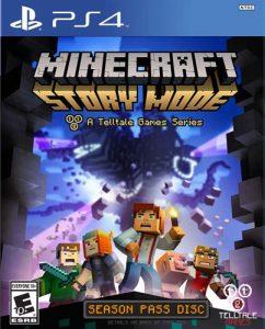 Minecraft Story Mode Season Pass Disc Sale