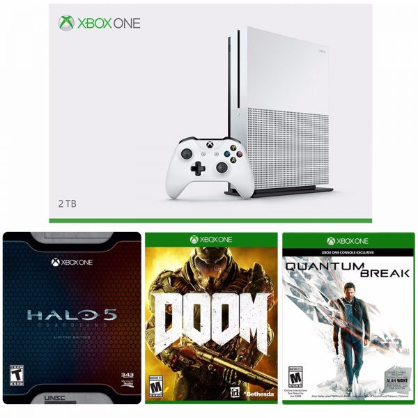 New Xbox One S 1TB Console with 4K Madden, $50 Gift Card Bundle
