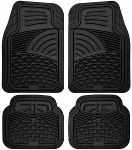 picture of Car Floor Mats for All Weather Rubber 4pc Set Sale