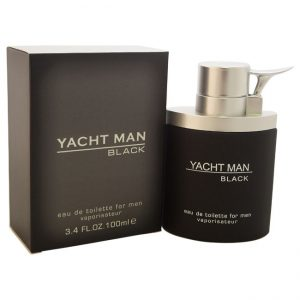 Yacht Man Black by Myrurgia for Men – 3.4 oz EDT Spray+ Sale