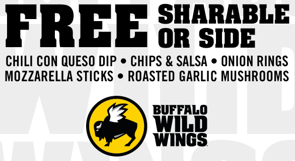 photo regarding Buffalo Wild Wings Printable Coupons referred to as Buffalo Wild Wings On the internet and within shop Discount coupons, Offers
