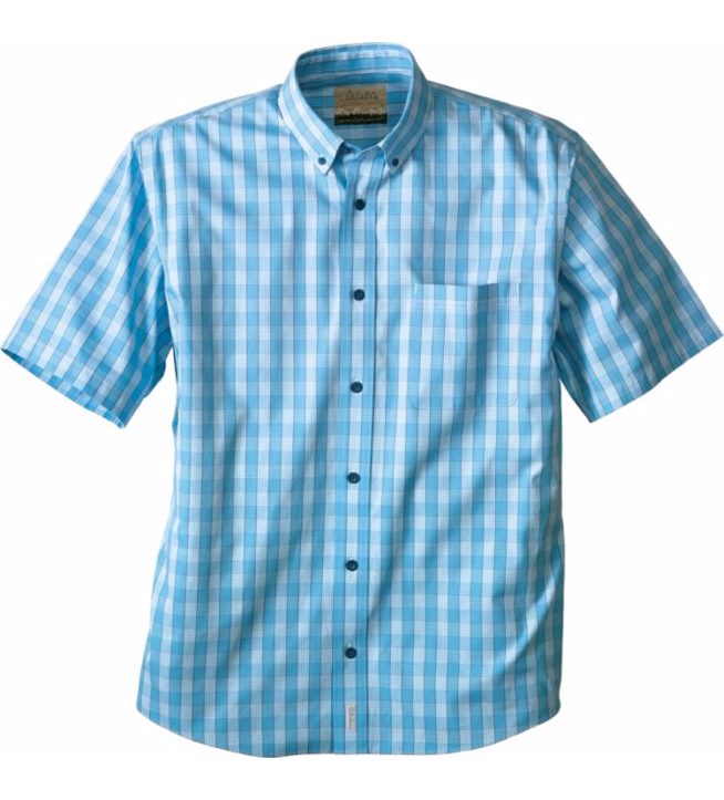 cabelas-mens-pinpoint-plaid-oxford-short-sleeve-shirt