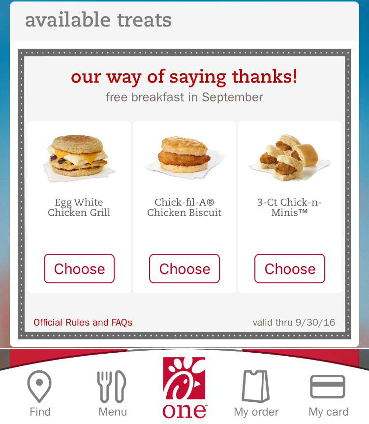 picture about Printable Chick-fil-a Coupons referred to as Chick-fil-A On-line and inside of shop Discount coupons, Specials