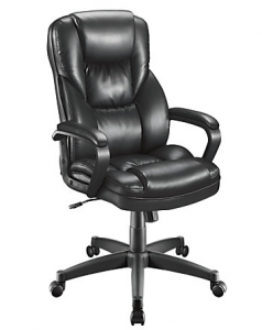picture of Realspace Fosner High Back Leather Chair Sale