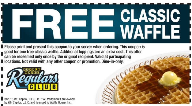 Waffle House Online and in store Coupons, Promotions, Specials for