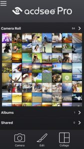 picture of Free iOS ACDSee Camera Pro App