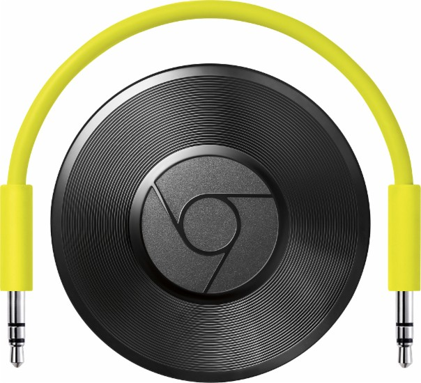 Google - Chromecast Audio Sale $25.00  Free Shipping from Best Buy