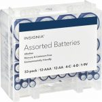 Insignia 33 pack Assorted Battery Sale
