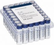 Insignia AA or AAA 48 pack Battery Sale