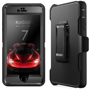 iPhone 7 Case + Glass Screen Protector Sale