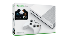 New Xbox One S 500GB Console with 4K – Halo, $50 Gift Card Bundle