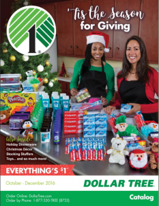 picture of Dollar Tree Holiday Catalog 2019