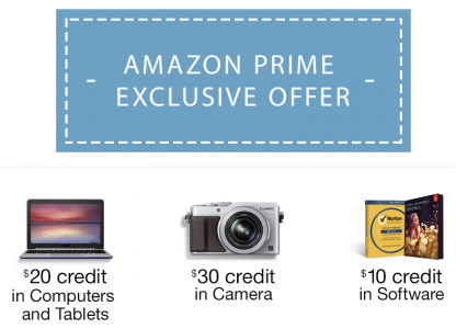 picture of Free Coupons for using Amazon Prime Photos