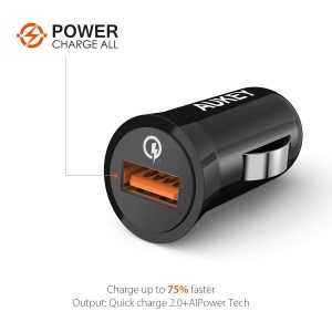 Aukey Quick Charge 2.0 18W USB Car Charger Sale