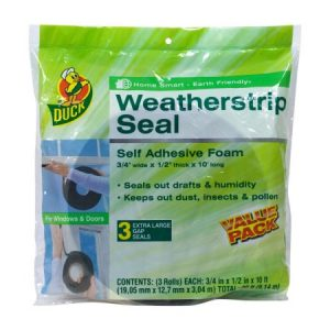 picture of Duck Brand Weatherstrip Seal for Large Gaps