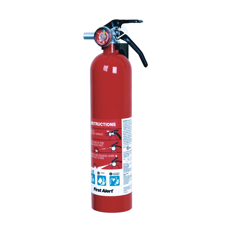 First Alert 2-1/2 Lbs Rechargeable Household Fire Extinguisher Sale $9.99  Free Shipping from Ace Hardware