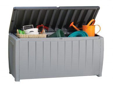 Keter Novel Plastic Deck Storage Box Sale