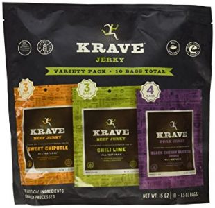 picture of Krave Jerky Variety Pack 10pack Sale