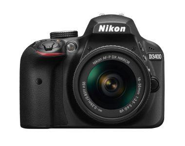 picture of Nikon D3400 DSLR Camera 18-55 Lens Bundle Sale