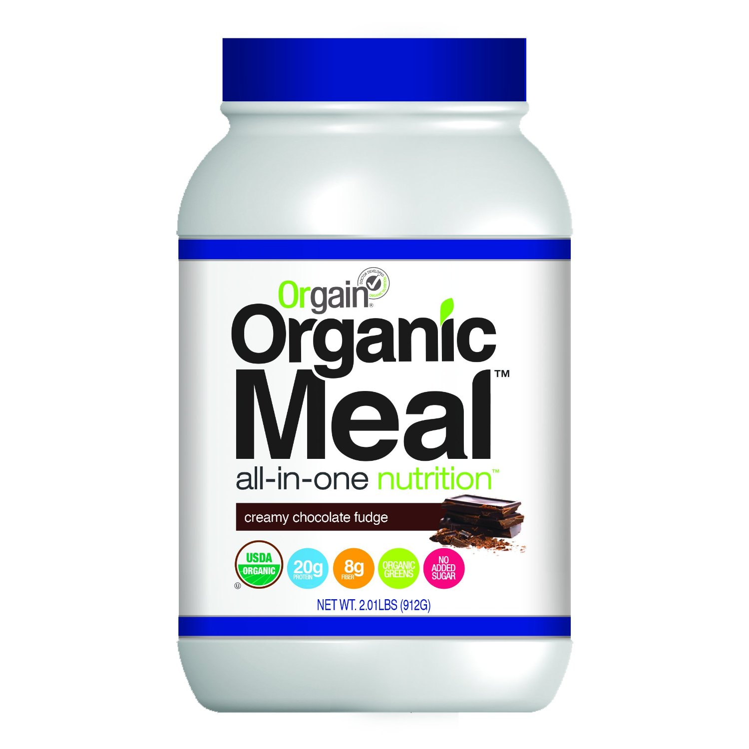 Orgain Organic Plant Based Meal Powder Sale $13.31  Free Shipping from Amazon