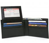 RFID Blocking Mens Leather Wallet Sale