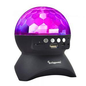 Rotating Magic Effect Disco Ball Light with Wireless Bluetooth Speaker