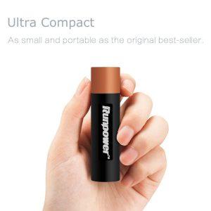 Runpower 2600mAh Ultra Slim Portable Power Bank Charger