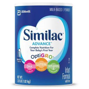 picture of Similac Advance Infant Formula 36 ounce Powder, 3pk Sale