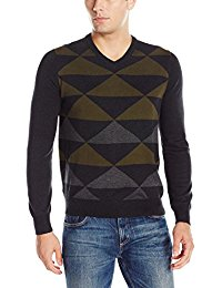 picture of Perry Ellis Men's V-Neck Sweater Sale