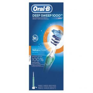 picture of Oral-B Deep Sweep 1000 Toothbrush Sale