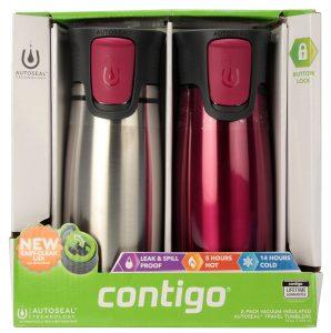 picture of Contigo Astor 2-pk Vacuum Insulated Travel Tumblers Sale