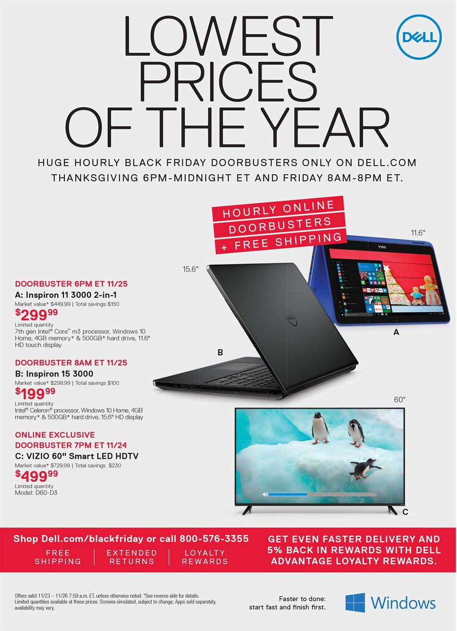 Black Friday 2016 Dell Home Ad Scan Buyvia