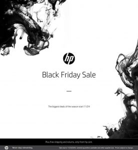 picture of Live: Black Friday 2016: HP Home Best Deals